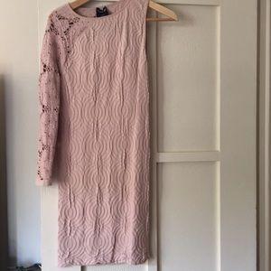 Fun one sleeve dress